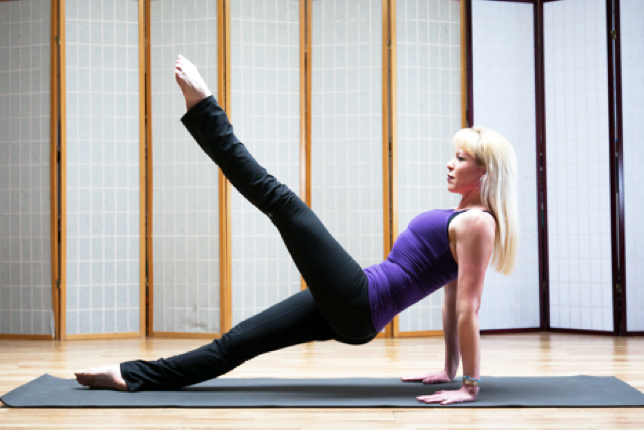 Pilates Moves for Runners