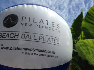 Beach Ball Pilates Workout